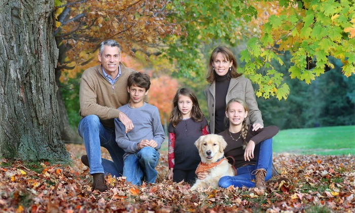 Nicoli Productions - Boston: $65 for an On-Location Fall Family Portrait Photography Package from Nicoli Productions ($65 Value)