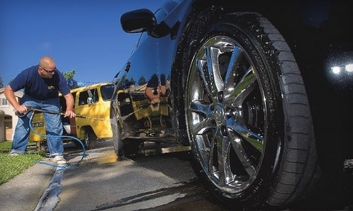 Mobile Wash N Wax - Stockton: $60 for an On-Location Car Wash and Hand Wax from Mobile Car Wash and Wax ($120 Value)