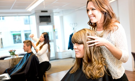 Haircut with Conditioning, Partial Highlights, or Full Highlights at Tease Hair Salon & Boutique (Up to 63% Off)