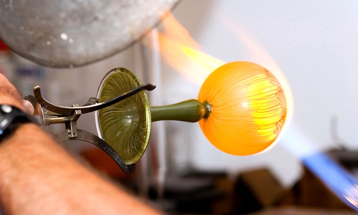Rainbow Glass - North Highlands: Glass Blowing Class for One or Two at Rainbow Glass (Up to 62% Off)