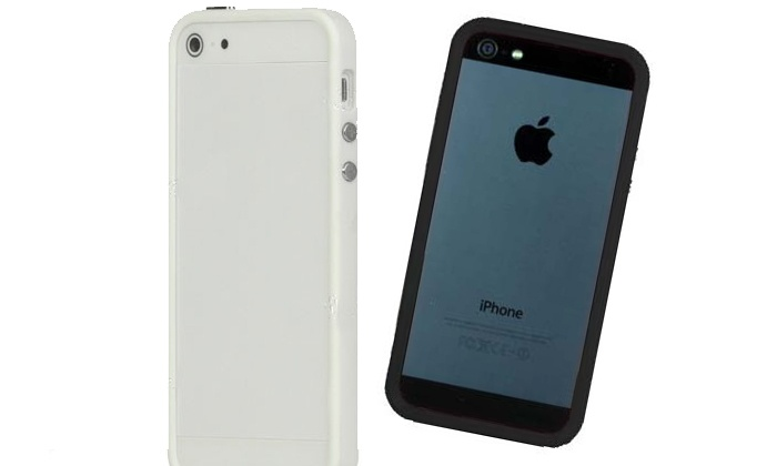 Revizion Concepts - Ala Moana - Kakaako: Black or White iPhone 5 Bumper with Optional Screen Protectors and Stylus at Revizion Concepts (Up to 72% Off)