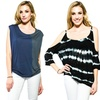 Knit, Splatter-Dyed, or Ombre Tops