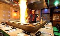Five-Course Teppanyaki Meal For Two with Tea or Coffee at WasabiSabi (40% Off)