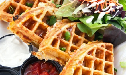$11 for $20 Worth of Gourmet Waffles, Valid Monday through Friday at West Coast Waffles