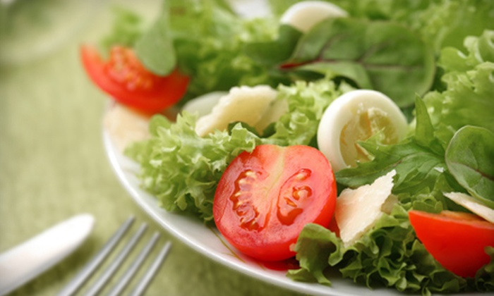 Mixed - Northwest Omaha: Salads, Wraps, and Paninis at Mixed (Half Off). Two Options Available.