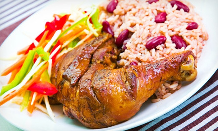 Jamaican Jerk Pit - Ann Arbor: Catering for Up to 20 from Jamaican Jerk Pit (Up to 51% Off). Six Options Available.