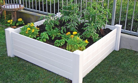 4 39 x4 39 raised garden bed groupon goods