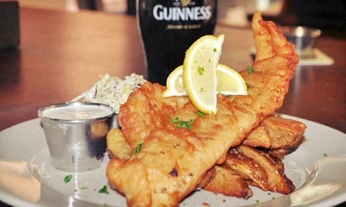 Dubliner Irish Pub - Fort Lauderdale: $15 for $30 Worth of Irish-Inspired Gastro Pub Food for Two or More at Dubliner Irish Pub
