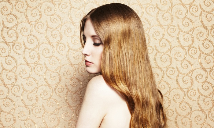 HairQuarters - West On Ridge Industrial Park: Hair Extensions or a Brazilian Blowout Conditioning Mask at HairQuarters Studio (Up to 64% Off)