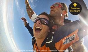 Queda Livre Paraquedismo: Queda Livre Paraquedismo – Boituva: salto duplo de paraquedas para 1 ou 2 pessoas – parcele sem juros