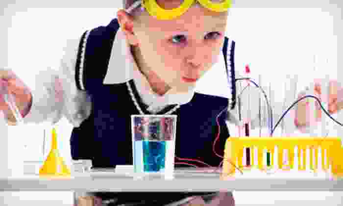Destination Science - Multiple Locations: Five-Day Kids' Science Camp from Destination Science (59% Off). 24 Options Available.