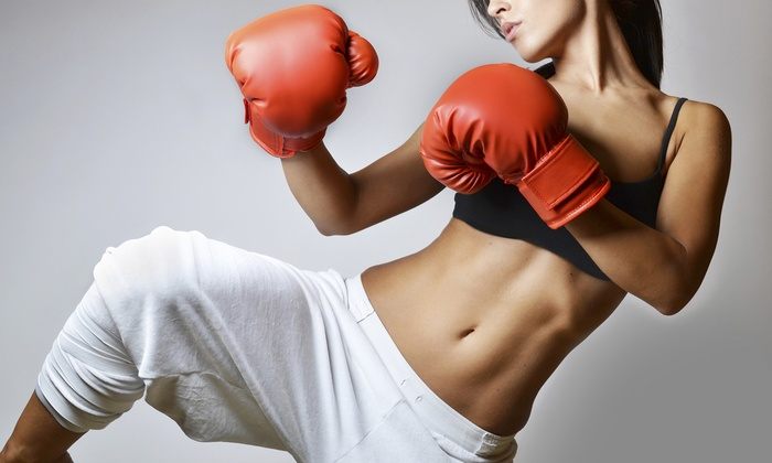 New York Black Belt Center - Bayside: One or Three Months of Kickboxing Classes with Free Boxing Gloves at New York Black Belt Center (Up to 57% Off)