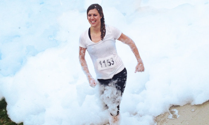 ColorFoam5k - Downtown Indianapolis: Race Entry for One, Two, or Four to ColorFoam5k on Saturday, July 19 (Up to 52% Off)