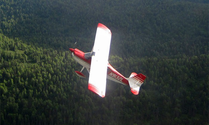 Above Alaska Aviation - Talkeetna: 30-Minute Acrobatic Flight for One or Two from Above Alaska Aviation (Up to 62% Off)
