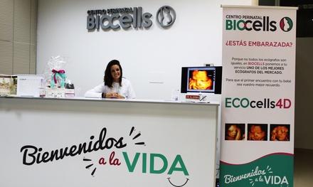 Ecografía 4D con 1 fotografía impresa y canastilla por 29,95 € en Centro Perinatal Biocells