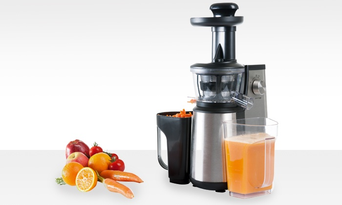Slow Juicer 60 Rpm 400 Watt Rgv : Sapcentrifuge - Juicer of Slow Juicer Groupon Goods