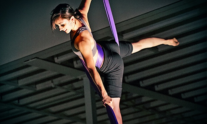 A-WOL: Dance Collective - Multiple Locations: Aerial-Fitness and Trapeze Classes at A-WOL: Dance Collective (Up to 73% Off). Four Options Available.