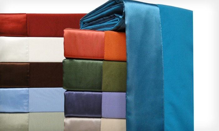 All-Seasons Microflannel Blankets: All-Seasons Microflannel Blankets (Up to 61% Off). Multiple Sizes and Colors Available. Free Shipping and Free Returns.