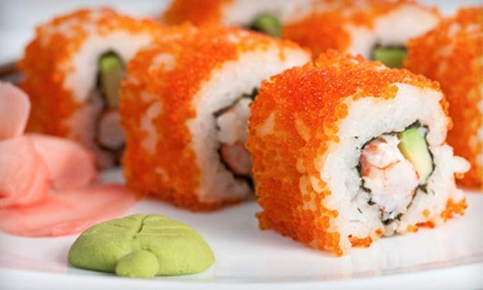 Umi Japanese Steak House & Sushi Bar - Boston Road: $20 for $40 Worth of Japanese Dinner Fare at Umi Japanese Steak House & Sushi Bar