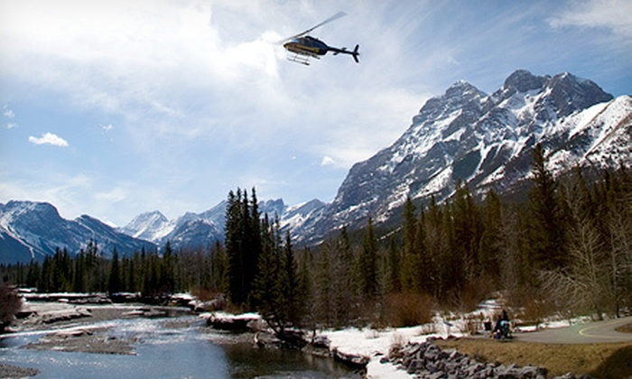 Kananaskis Heli Tours - Rockies Heli Canada: $119 for a 20-Minute Helicopter Tour and a $10 Gift-Store Credit from Kananaskis Heli Tours ($199 Value)