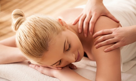 60-Minute Swedish or Hot-Stone Massage at Bare Beauty Bar (51% Off)