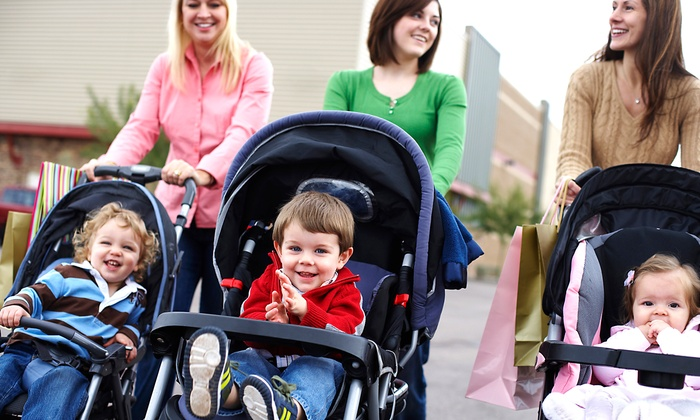 Stroller Mommy N Me - Multiple Locations: 5, 10, or 20 Mommy & Me Fitness Classes from Stroller Mommy N Me (Up to 64% Off)