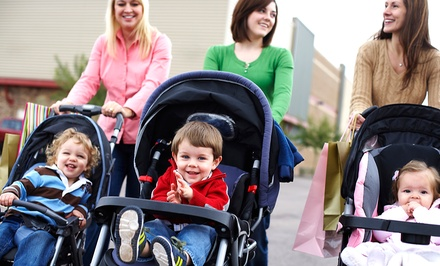 5, 10, or 20 Mommy & Me Fitness Classes from Stroller Mommy N Me (Up to 64% Off)