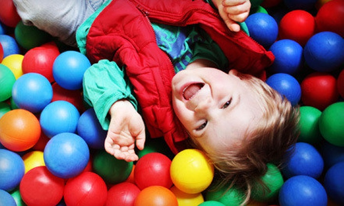 Lil' Monkeys Indoor Playgrounds - Burlington: Playtime for One, Two, or Three Kids or Birthday Party at Lil' Monkeys Indoor Playgrounds in Burlington (Up to 57% Off)