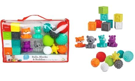 Ensemble de jouets sensoriels Infantino
