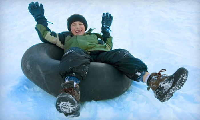 Snowy Joe's Winter Park - Anderson: Snow Tubing for Two or Four at Snowy Joe's Winter Park (53% Off)