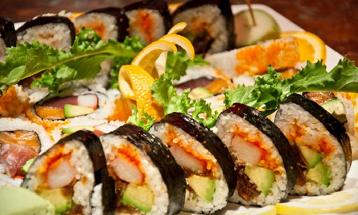 Arirang Hibachi Steakhouse and Sushi Bar - Mountainside: Sushi and Japanese Cuisine for Two or Four at Arirang Hibachi Steakhouse and Sushi Bar (Half Off)