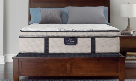 Special Pricing: Serta Pillowtop Mattress Set—Adjustable Base Option. Free Delivery. 10-Year Limited Warranty.
