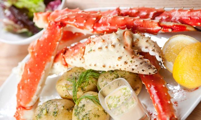 Blue Water Seafood & Crab - Willow Glen: Snow-Crab Dinner or Salad or Sandwich Lunch for Two or Four at Blue Water Seafood & Crab (Up to 50% Off)
