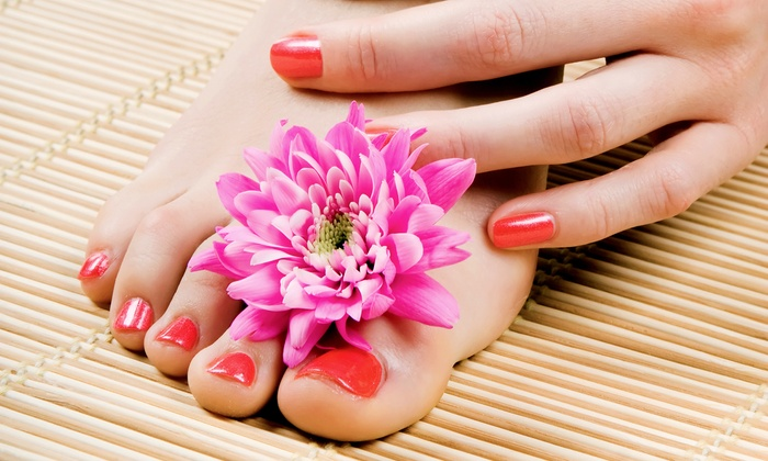 Kelly Rae Rose Hair Designs - Mechanicville: One Spa Mani-Pedi, or One or Three Gelish or Shellac Manicures at Kelly Rae Rose Hair Designs (Up to 53% Off)