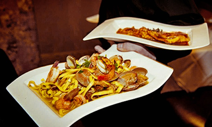 Peppercorn's Grill - Downtown: Upscale Italian Food for Two or Four at Peppercorn's Grill (Half Off)