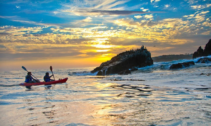 "Beach Shoot - Laguna Beach: $69 for a Kayak Photo Shoot for Two with One 8""x10"" Print from Beach Shoot ($218 Value)"