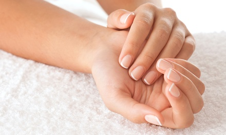 One or Three Groupons, Each Good for One Pedicure and Spa Manicure at Hair Today (Up to 52% Off)