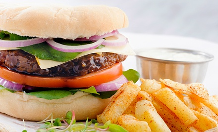 Gourmet Burgers and Burger Bowls at Virdene's (Half Off). Two Options Available.