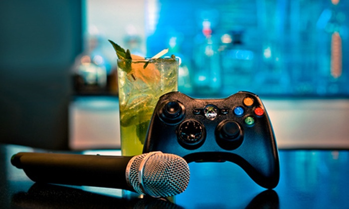 Nocturna Lounge - Downtown Honolulu: Karaoke, Video Games, and Drinks at Nocturna Lounge (Up to 53% Off). Three Options Available.