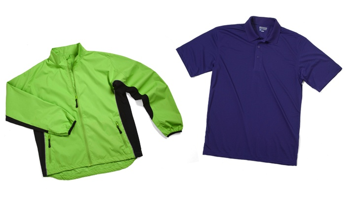 Zorrel Jacket and Polo Set: Zorrel Jacket and Polo Set. Multiple Colors Available. Free Shipping and Returns.