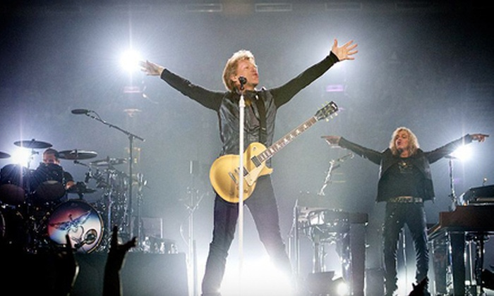 Bon Jovi: Because We Can - The Tour - The Strip: Bon Jovi: Because We Can – The Tour at MGM Grand Garden Arena on Saturday, October 12, at 8 p.m. (Up to 49% Off)