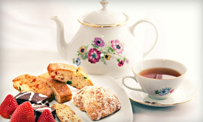 Eddison & Melrose - Monterey: High Tea for Two, Four, or Six at Eddison & Melrose (Up to 55% Off)