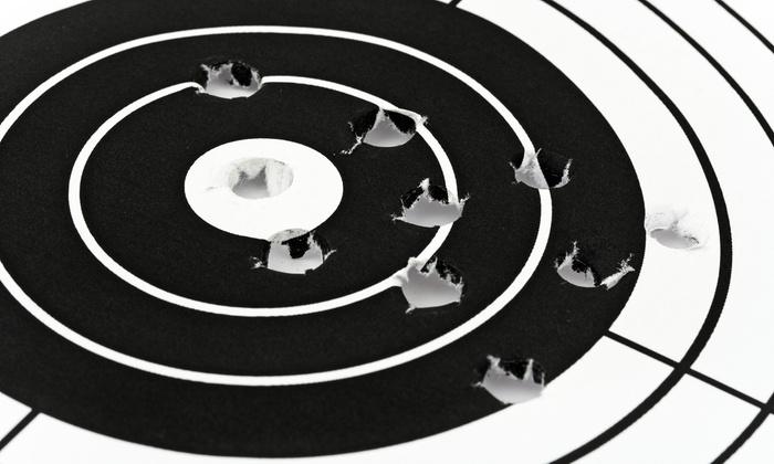 Allen Arms Indoor Range - Greenville: $28 for a Shooting-Range Package for Two at Allen Arms Indoor Range ($56 Value)