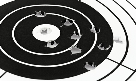 $28 for a Shooting-Range Package for Two at Allen Arms Indoor Range ($56 Value)