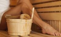 Sauna-Welt-Tageskarte für bis zu 2 Personen, opt. mit All-you-can-eat-and-drink-Karte, im Vitalium (bis zu 33% sparen*)