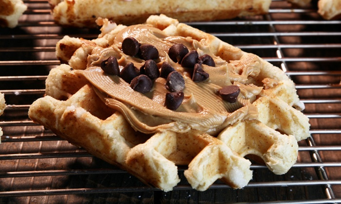 Waffle Brothers - Dennver: $16 for Three Bags of Take-Home Waffles from Waffle Brothers ($27 Value)