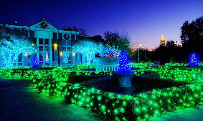 Atlanta Botanical Garden - Northeast Atlanta: $17 for Garden Lights, Holiday Nights Show for Two at the Atlanta Botanical Garden (Up to $34 Value)