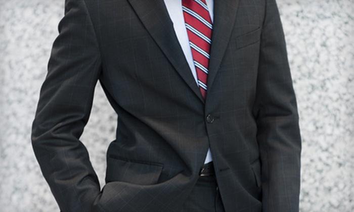 Navin's Custom Clothiers - Multiple Locations: Four Custom Shirts, Custom Suit, or $500 for $1,000 Toward a Loro Piana Suit at Navin's Custom Clothiers