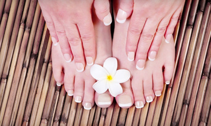 Salon Monte Carlo - Salon Monte Carlo: One or Two Manicures and Pedicures at Salon Monte Carlo (Up to 55% Off)