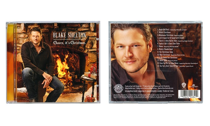 Blake Shelton Cheers Its Christmas.Blake Shelton Albums Groupon Goods